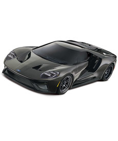 Traxxas Silver Ford GT: 1/10 Scale AWD Supercar with TQi Traxxas Link Enabled 2.4GHz Radio System & Traxxas Stability Management (TSM)