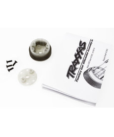 Traxxas Main diff with steel ring gear/ side cover plate/ screws (Bandit, Stampede, Rustler)