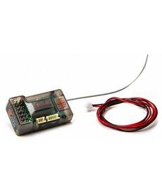 Spektrum SR6100AT Receptor de superficie de telemetría AVC de 6 canales