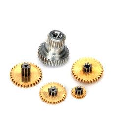 Conjunto de engranajes, metal (para servo sub-micro impermeable 2065X)