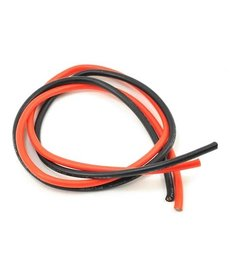 Protek RC 12AWG Cable de silicona rojo y negro (2 pies / 610 mm)