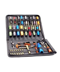 Integy Ti-Nitride Racing Tool Set (31pc) con bolsa