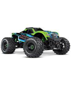 89076-4-GRN Maxx: 1/10 Scale 4WD Brushless Electric Monster Truck with TQi Traxxas Link Enabled 2.4GHz Radio System & Traxxas Stability Management (TSM)