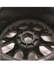 Sweep Racing C1003B Monster Truck VHT Crusher Belted tire preglued on WHD Black wheel 2pc set