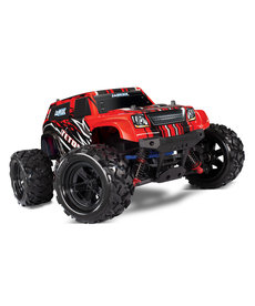 Traxxas LaTrax Red RC RTR Teton 1/18 Scale 4WD Brushed Electric Monster Truck W Battery
