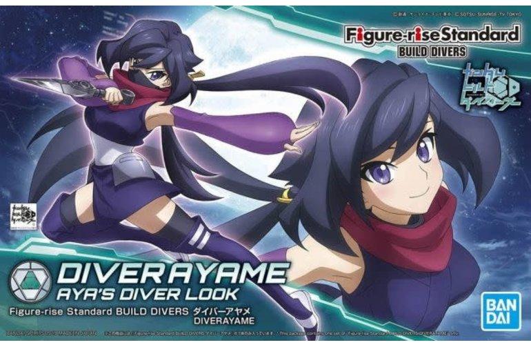"""Bandai Diver Ayame Figure-rise Standard Model Kit, from """"Gundam Build Divers"""""""