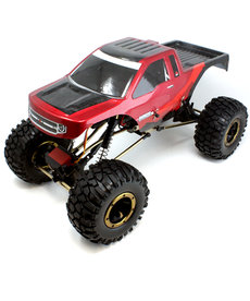Redcat Racing Everest-10 1/10 Rock Crawler Red/Black Electric Brushed W Battery & Charger