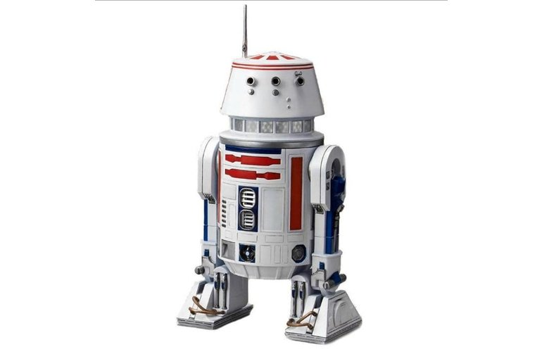 """Bandai R2-D2 & R5-D4 """"Star Wars"""", Bandai Star Wars Character"""