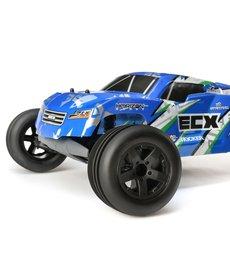 ECX 1/10 2wd Circuito ST: Azul / Blanco RTR