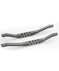 Traxxas 4923A Chassis braces, lower (2) (grey)