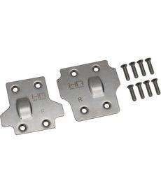 HRA Juego de placas de deslizamiento de acero inoxidable-KratonOutcastTalion
