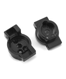 ST Racing Concepts ST8256BR Traxxas TRX-4 Brass Rear Axle Portal Mounts (Black) (2)