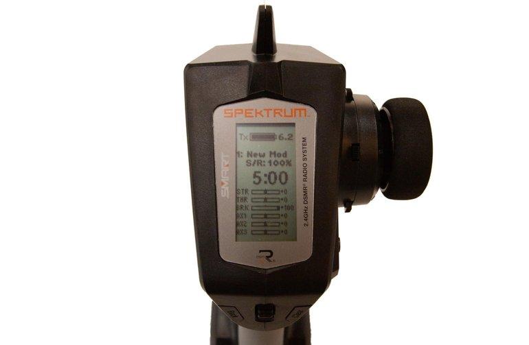 SPM Transmisor DSMR inteligente de 5 canales DX5C con SR6100AT (SPM5120)