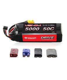VNR 15059 DRIVE 50C 3S 5000mAh 11.1V LiPo Battery with UNI 2.0 Plug