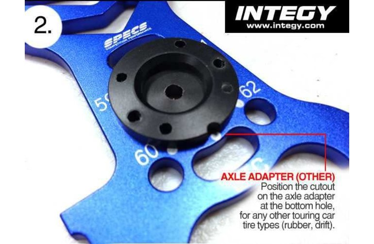 Integy SPECS Precision Alignment Setup Station for Most 1/10 On-Road w/ Carrying Bag C23861GUN