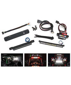 Traxxas 7885 - LED light kit, complete (includes #6590 high-voltage power amplifier)