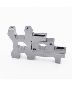 Generic RC Car Motor Mount Holder For 1/8 Scale Models Hobao ST/ST RTR PRO Truck Nitro Power Change To Electric Brushless Electric EP Vehicles