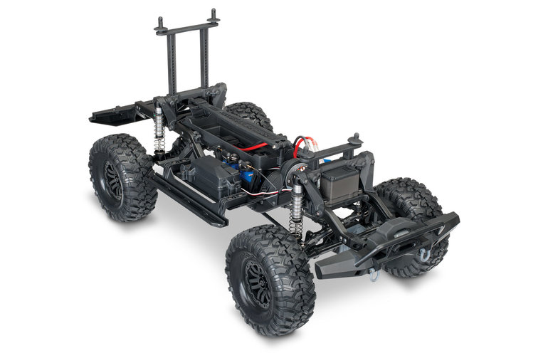 Traxxas 82056-4-BLUE TRX-4 Scale & Trail Crawler w Land Rover Defender Body 1/10 Scale 4WD Electric RTR TQi Link Enabled 2.4GHz XL-5 HV ESC