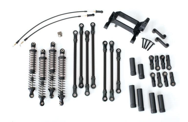 Traxxas 8140 Black Long Arm Lift Kit, TRX-4, complete