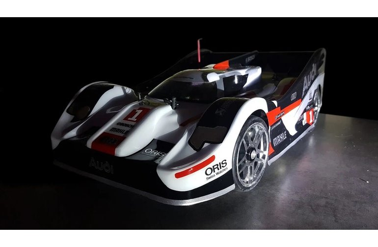 Delta Plastik Delta Plastik 0167s - R18 1/8 Scale GT RC car Speed Run drag racing body