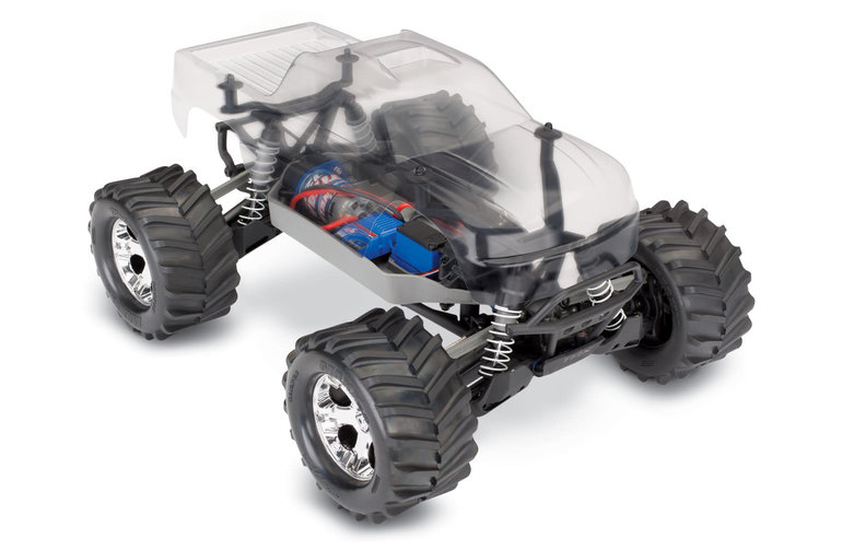 Traxxas 67014-4  Stampede 4X4 Unassembled Kit 1/10 Scale 4WD Monster Truck w clear body TQ 2.4GHz & Brushed XL-5 ESC