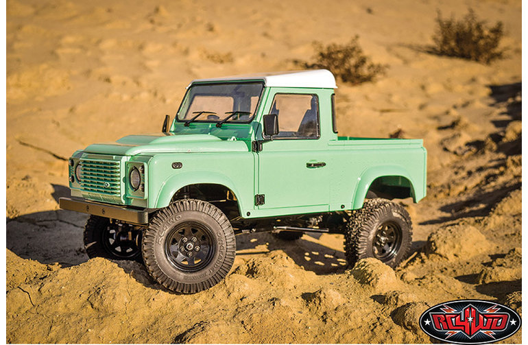 RC4WD Z-RTR0044 RC4WD Gelande II RTR Truck Crawler 1/10 W / 2015 Land Rover Defender D90 Body Set (Heritage Edition)