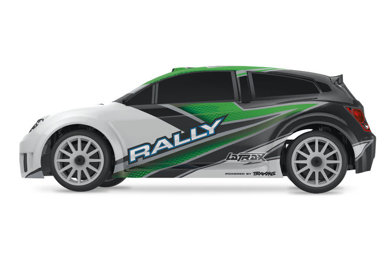Traxxas 75054-5  LaTrax Rally Racer 1/18 Scale 4WD Electric RTR Powered by Traxxas with Brushed Esc & motor Includes 5-Cell NiMH 1200mAh battery & AC charger