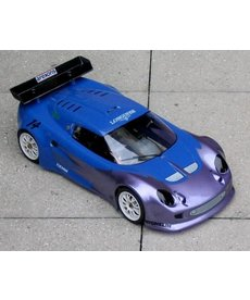 Delta Plastik Delta Plastik 0050 Lotus Elise 1/10 Scale 200 mm RC car body Clear