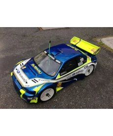 Delta Plastik Delta Plastik 0108 - 2MM Subaru WRX 1/8 scale GT RC Car Clear body