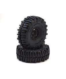 "Proline Racing 10133-10 Pro-Line Interco Bogger 1.9"" Tires w/Impulse Wheels (Black) (2) (G8) w/12mm Hex"