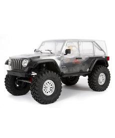 Axial AXI03007 RC Crawler eléctrico a escala 1/10 Kit SCX10 III Jeep JLU Wrangler con portales 4WD
