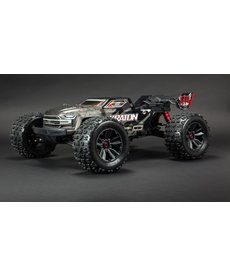 Arrma ARA106053 1/8 KRATON 4WD EXtreme Bash Roller Speed Monster Truck, Black