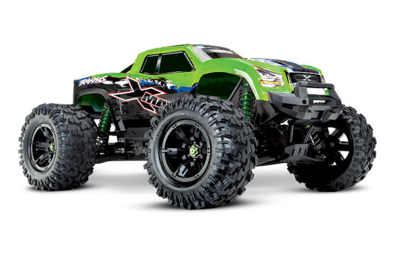Traxxas X-Maxx: Monster Truck eléctrico sin escobillas con TQi Traxxas Link Enabled Sistema de radio de 2.4GHz y Traxxas Stability Management (TSM)