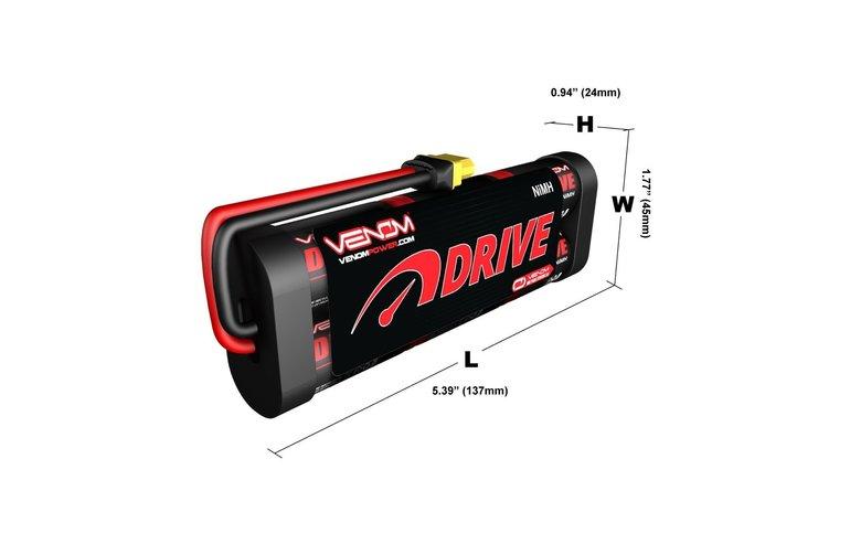 VNR DRIVE 7.2V 5000mAh NiMH  : UNI 2.0 Plug