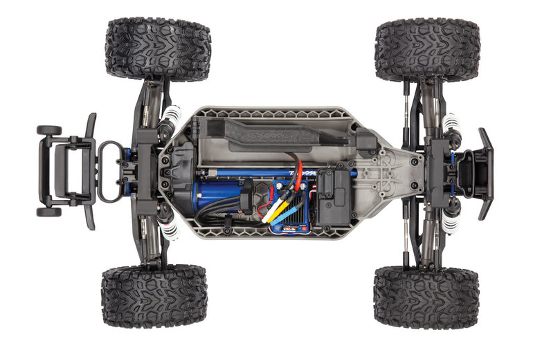 Traxxas 67076-4 - PINK Rustler® 4X4 VXL: 1/10 Scale Stadium Truck. Ready-to-Race® with TQi Traxxas Link™ Enabled 2.4GHz Radio System, Velineon® VXL-3s brushless ESC (fwd/rev), and Traxxas Stability Management (TSM)®