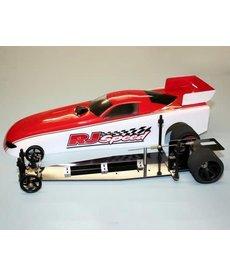 "RJ Speed 2002 RJ Speed 13 "" RC Kit de arrastre eléctrico para coche divertido"