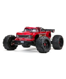 Arrma ARA5810 OUTCAST RC 4X4 8S BLX 1/5th Stunt Monster Truck Red