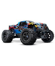 Traxxas 77086-4-RNR Camión monstruo eléctrico sin escobillas Traxxas Rock N Roll X-Maxx con TQi 2.4GHz y TSM