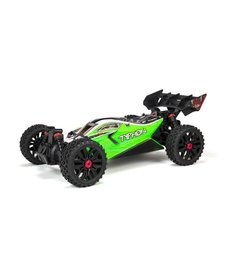 Arrma TYPHON 4X4 MEGA Brushed 1/8th 4wd Buggy Green