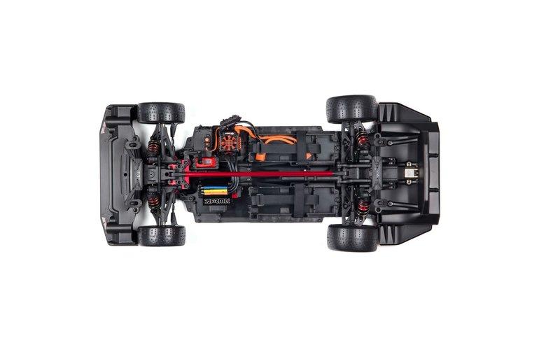 Arrma ARA7617V2T1  1/7 FELONY 6S Brushless BLX Street Bash All-Road RC Muscle Car RTR Black