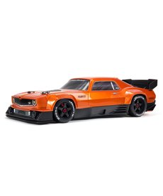Arrma ARA7617V2T2 FELONY 6S Brushless BLX Street Bash 1/7 RC Car All-Road Muscle Orange