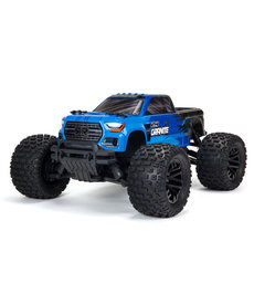 Arrma ARA4202V3T1 Blue 1/10 GRANITE 4X4 V3 MEGA 550 Electric Brushed Monster Truck RTR