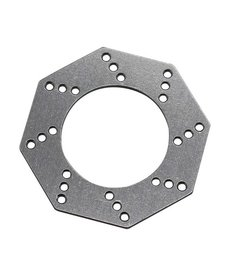 HRA Almohadillas de embrague antirrebote hexagonales de aluminio (1) - Arrma 1/10