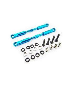 HRA Tensores traseros de aluminio azul de 89 mm