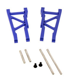 Atomik Rc Brazo inferior trasero de aleación 1:10 Traxxas 4x4 azul