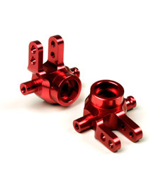 Atomik Rc Bloques de dirección de aleación 1/10 Traxxas 4x4 Rojo