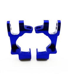 Atomik Rc Alloy Front C Hub 1/10 Traxxas 4x4 Blue