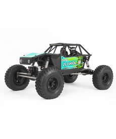 Axial AXI03000T2 Verde 1/10 RC Capra 1.9 Unlimited 4WD Trail Buggy Cepillado RTR