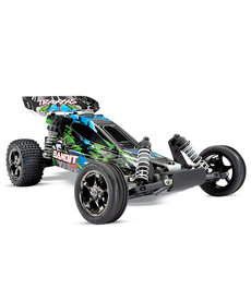 Traxxas 24076-4-GRN Bandit VXL 1/10 Scale 2wd RC Off Road Buggy with TQi Traxxas Link  Enabled 2.4GHz Radio System TSM