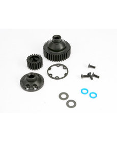 Traxxas 5579 Gears, differential 38-T (1)/ differential drive gear 20-T/ side cover plate (1)/ gasket (1)/ output gear seals (x-ring) (2)/ 2.5x8mmCCS (4)/ 5x10x.5mmTW (2)